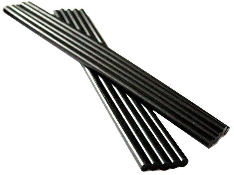 Термоклей-черный (Китай) 7мм*25см