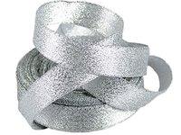 Лента парча серебро(ширина 6мм)
