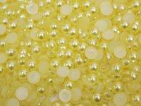 Полубусина-жемчуг(цв.желтый) 10мм